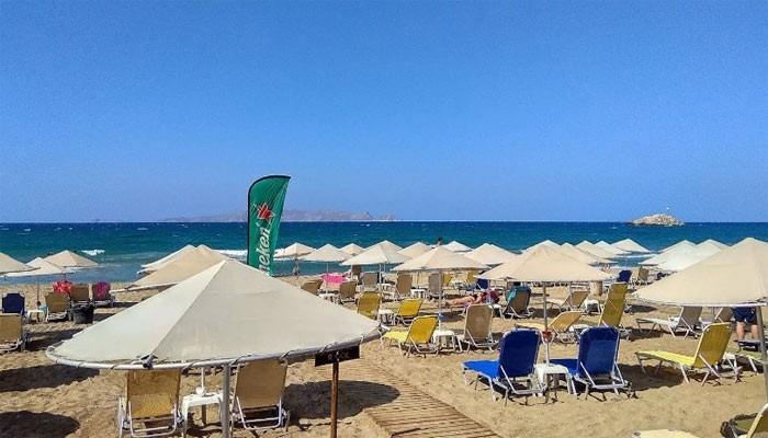 Пляж Karteros на Крите