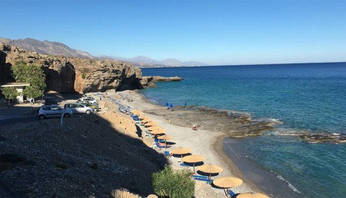 Пляж Филаки на Крите