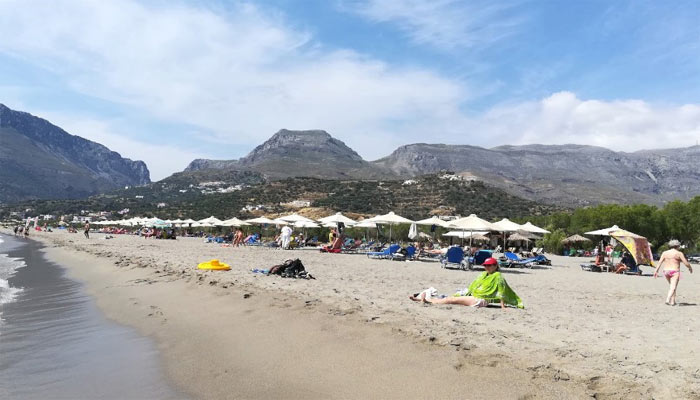 Пляж Палигремнос на Крите