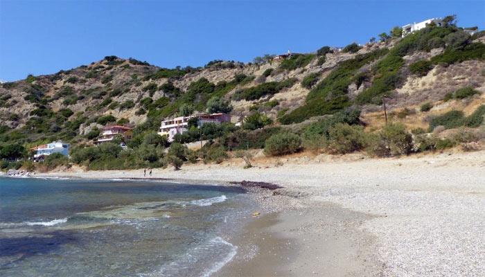 Пляж Скинос на Крите