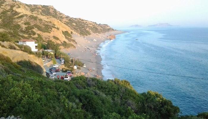 Дикий пляж Лигрес на Крите