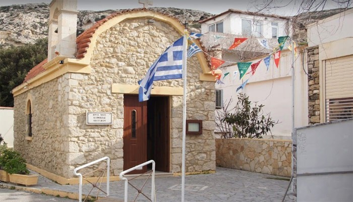 Приходская церковь Успения Пресвятой Богородицы на Крите