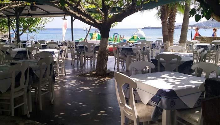 Ресторан Porto Paradiso на Бали на острове Крит