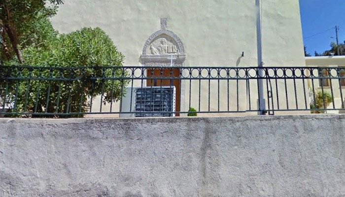 Селлянская церковь на острове Крит