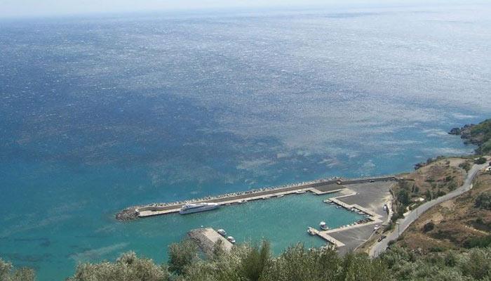 Фото причала в Птакиасе на Крите