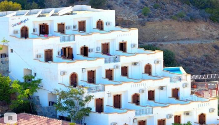 Отель Sunlight в Агия Галини на острове Крит