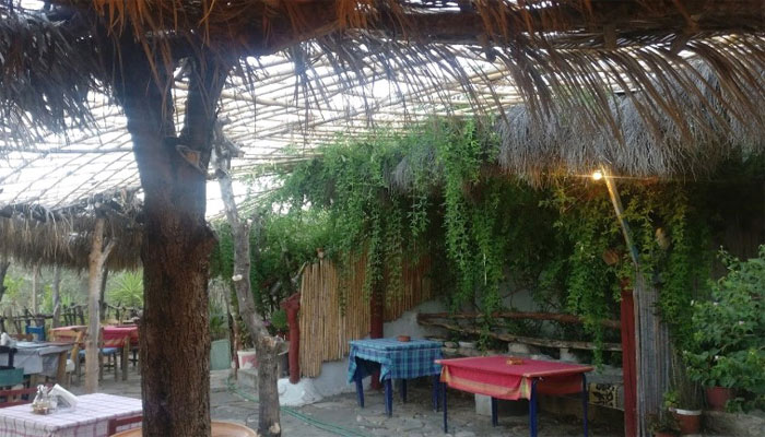 Таверна Charlie's Place в Айя Галини на острове Крит