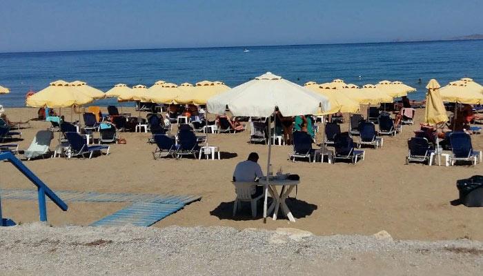Пляж Tobruk в Картеросе на Крите