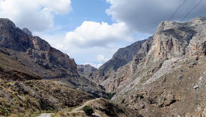 Ущелье Курталиотико на Крите