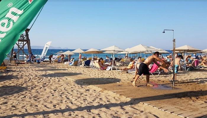 Пляж Ксения в Картеросе на Крите