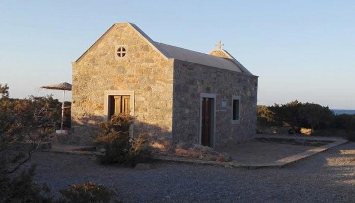 Церковь Святого Фокаса в поселке Элунда на Крите