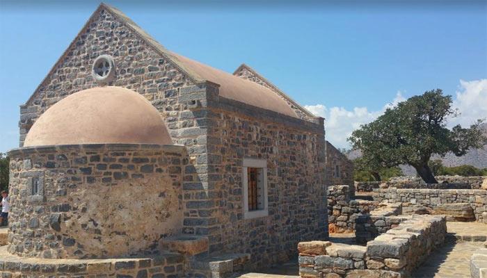 Церковь Святого Люка в поселке Элунда на Крите