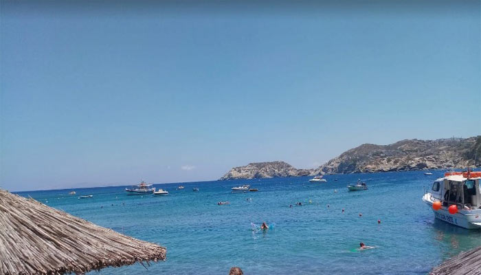 Море в поселке Элунда на Крите