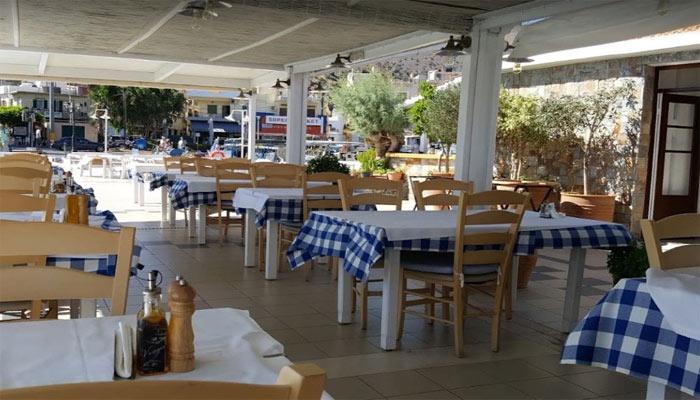 Ресторан Vritomartes Restaurant в поселке Элунда на Крите