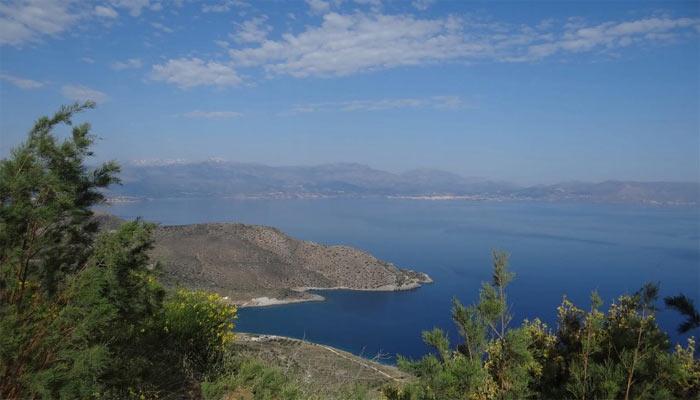 Фото поселка Элунда на Крите