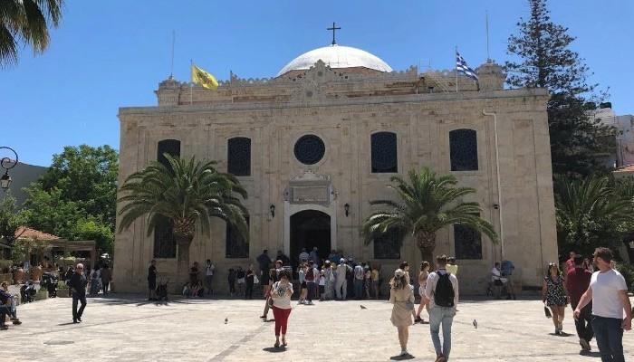 Собор святого Тита в Ираклионе на острове Крит