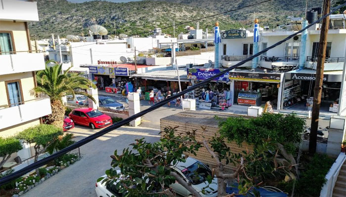 Фото поселка Сталида на Крите