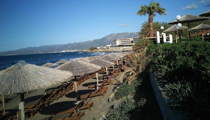 Курорт Сталида: песчаная симфония северного побережья Крита.