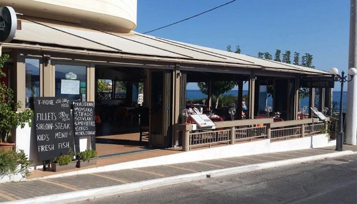 Ресторан 9 Муз в Сталиде на Крите