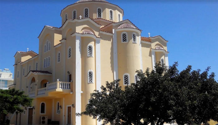Храм Св. Антония в городе Агиос Николаос на Крите