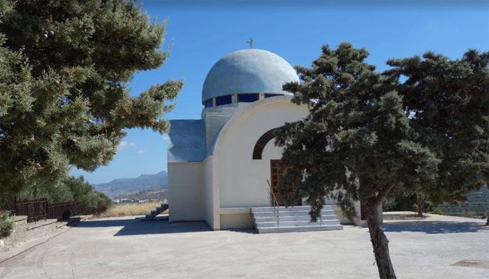 Церковь Св. Димитриоса в Агиос Николаос на острове Крит