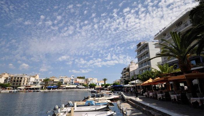 Фото города Агиос Николаос на Крите