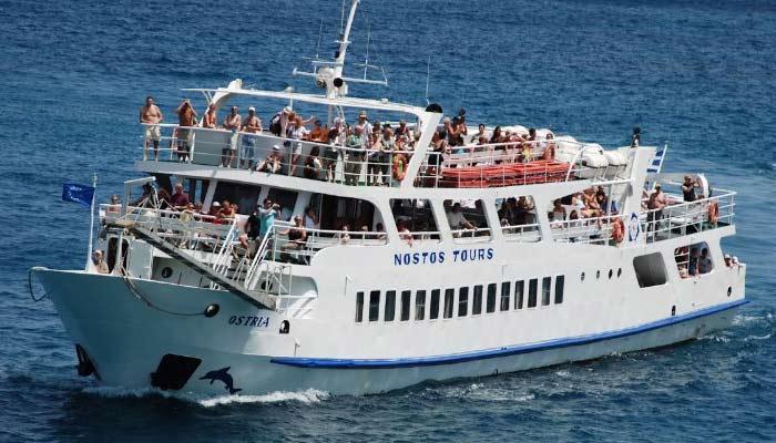 Экскурсия на остров Санторини из города Агиос Николаос на Крите