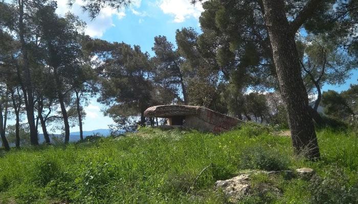 Немецкий бункер времен Второй Мировой войны в Агиос Николаос