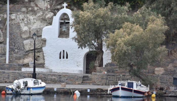 Рыбацкая церковь Fisherman's Church в Агиос Николаос на Крите