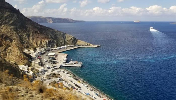 Фото парома на острове Крит