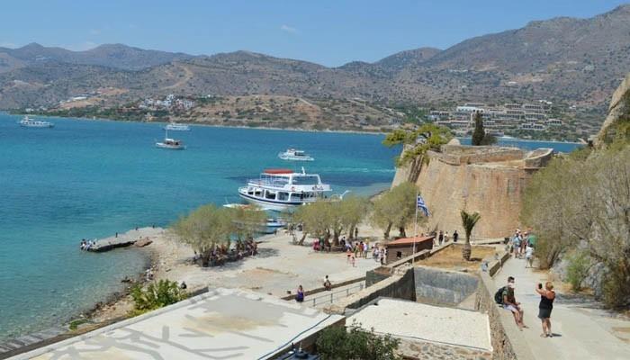 Фото острова Спиналонга вблизи острова Крит