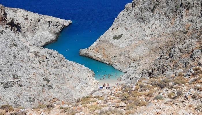 Бухта Дьявола на острове Крит
