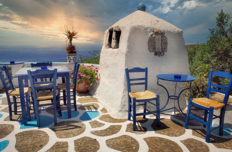 Еда в тавернах на Крите. Кухня острова