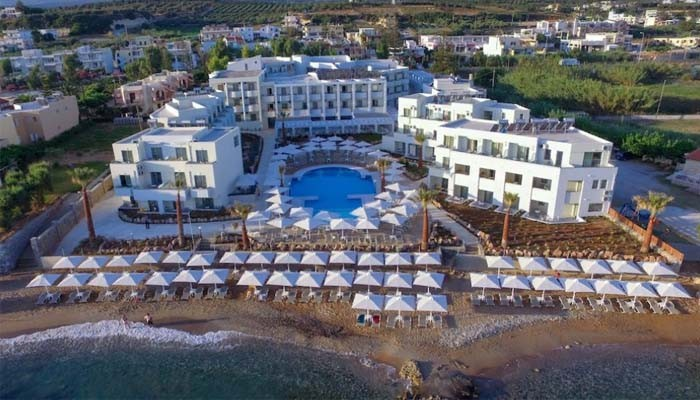 Отель Bomo Rethymno Beach 4 на курорте Ретимно на Крите