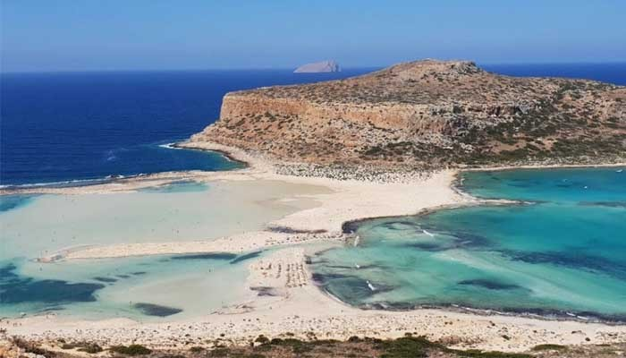 Фото бухты Балос на Крите