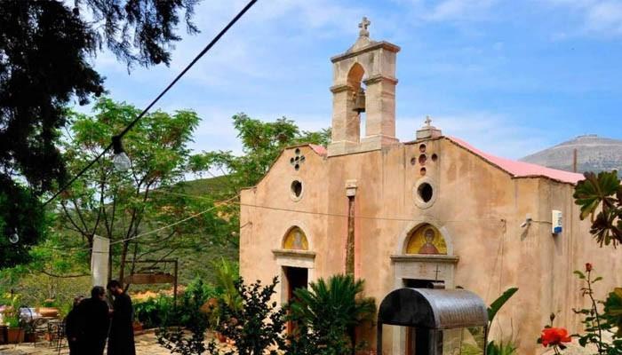 Церковь Святого Мирона в Агиос Миронас на Крите