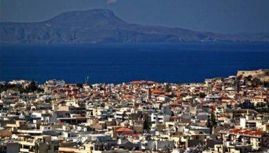 город Ретимно на Крите