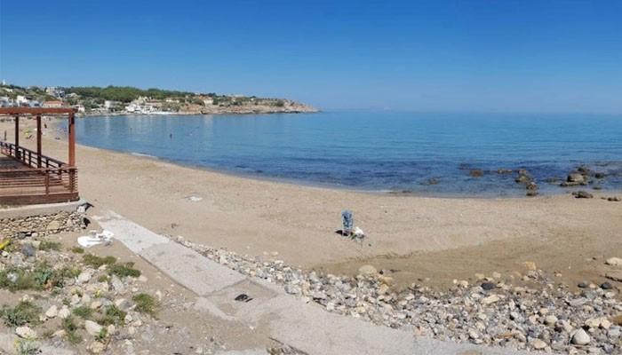 Фото пляжа Koumbes beach в Ретимно на острове Крит