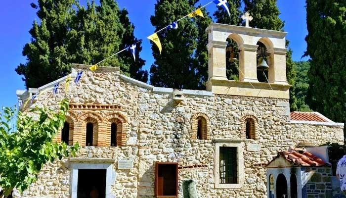 Женский монастырь Керы Кардиотиссы на острове Крит