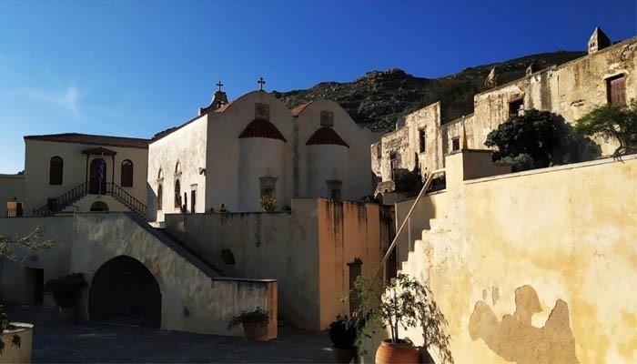 Действующий монастырь Превели на Крите