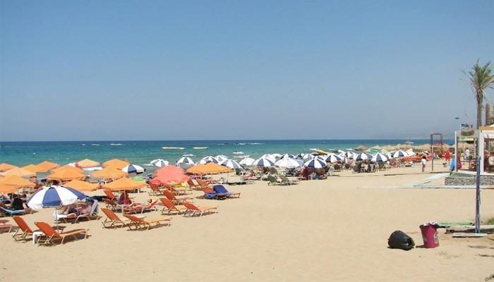 Береговая линия пляжа Stalis Beach