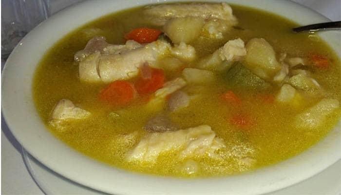 Ресторан Samaria рыбный суп