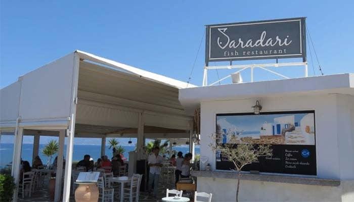 Рыбный ресторан Сарадари в Аниссарасе