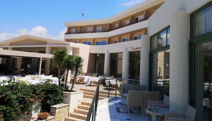 Отель Rethymno palace 5* в Ретимно на Крите