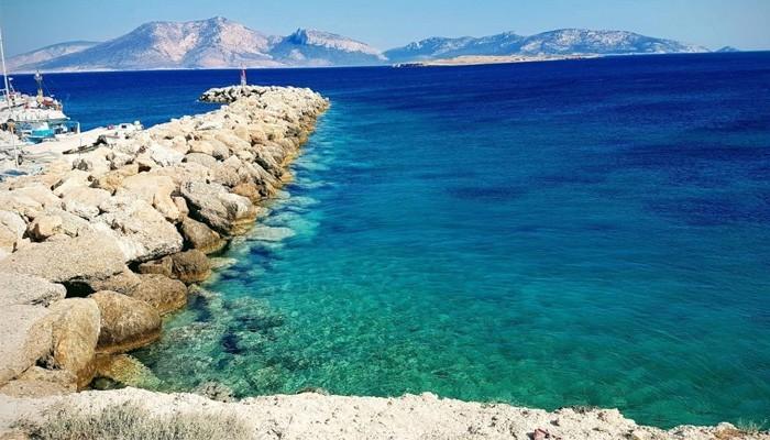 Необитаемый остров Куфониси в Ливийском море