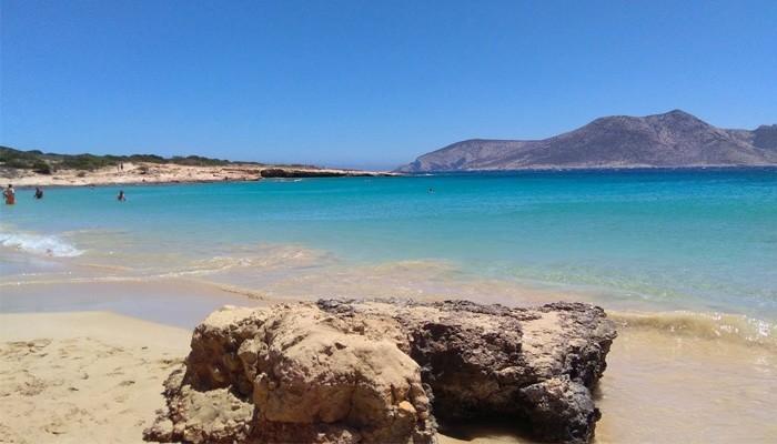 Пляжи с белым песком на острове Куфониси