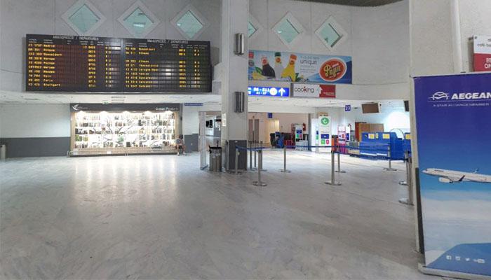 Фото зал ожидания аэропорта в ираклионе