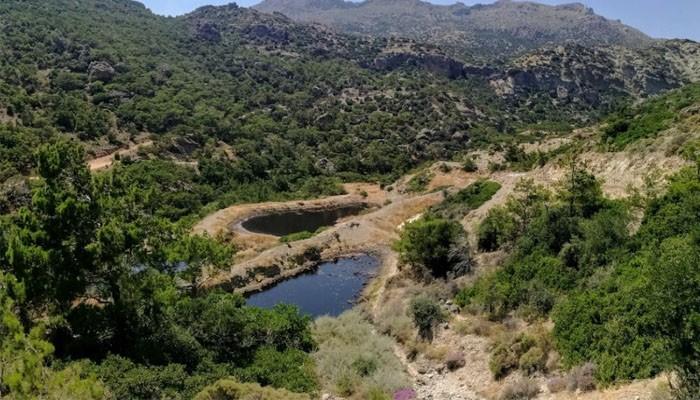 Горное ущелье Милона в нома Лассити на Крите