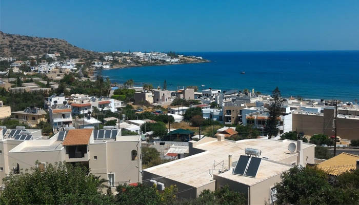 Курорт Малия на острове Крит