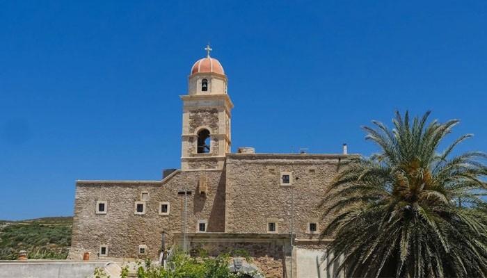 Монастырь Топлу в Лассите на острове Крит